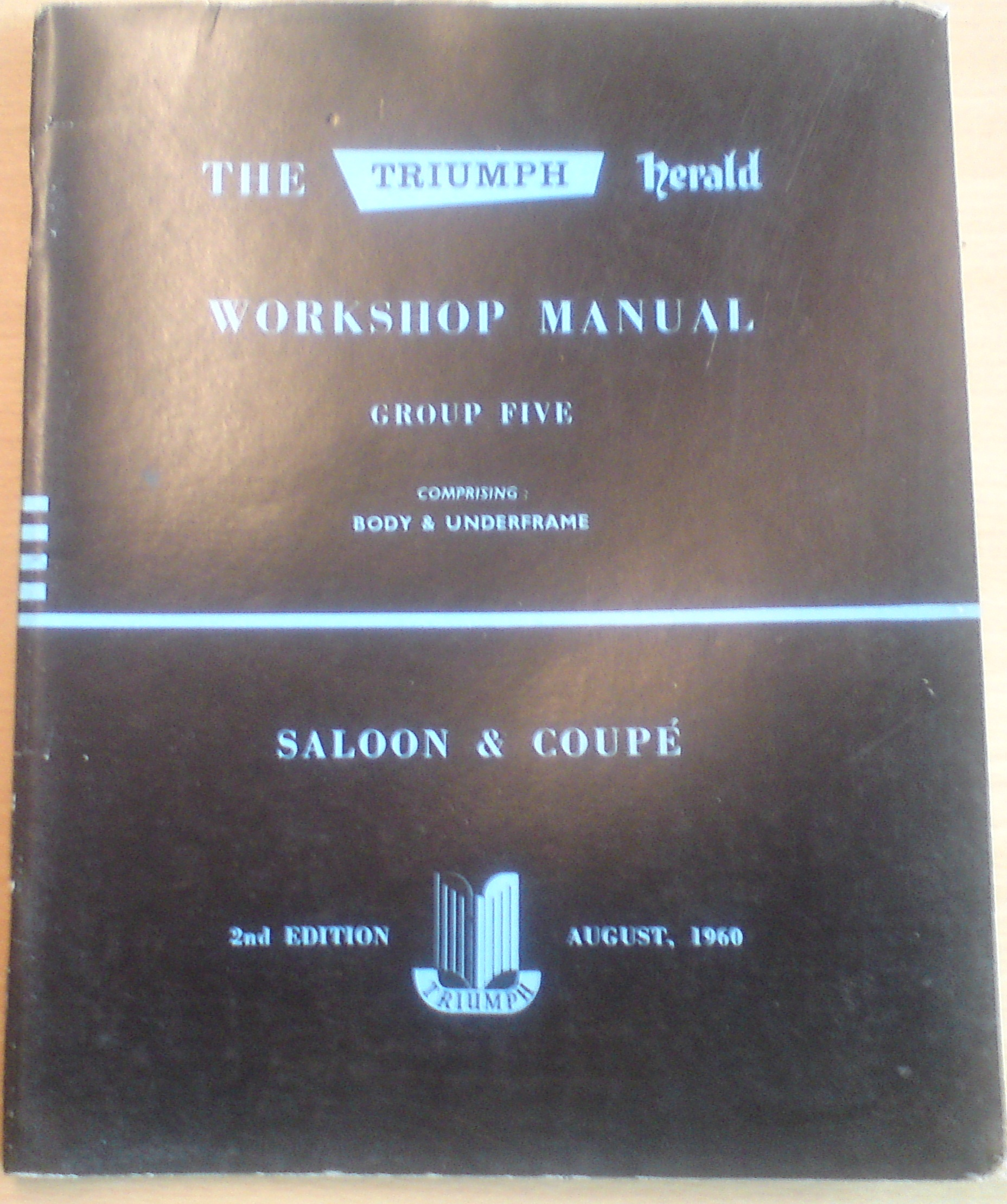 Workshop Manual (Body & Underframe) Herald Saloon & Coupe