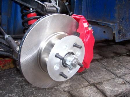 how to change a brake pot