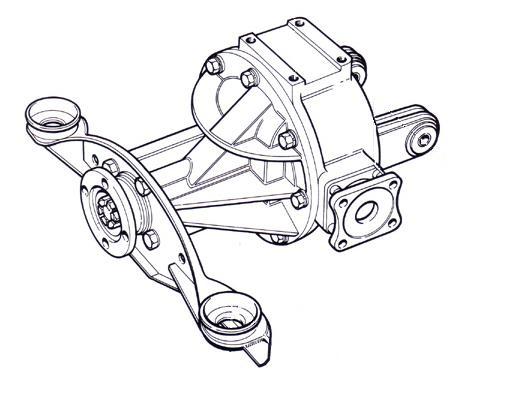 rebuilt differentials canley classics Triumph Car differential