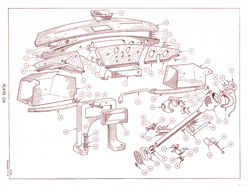 gt6early_plate_ca convert lhd to rhd spitfire & gt6 forum triumph experience car triumph herald 1200 wiring diagram at fashall.co
