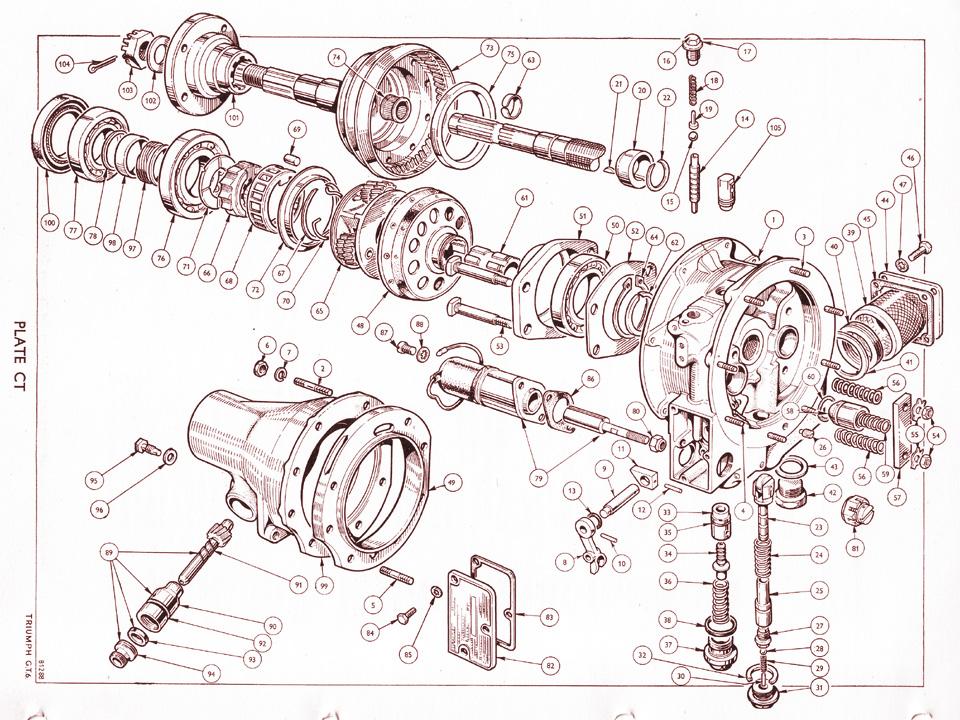 D Type Overdrive Internals   Canley Classics