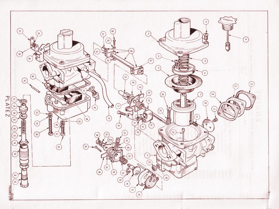 Mkii Stromberg Carburettors   Canley Classics