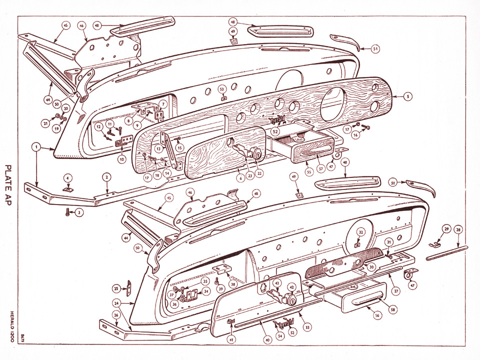 60 Convertible Hood together with 234819 Latching Relay Schematic Diagram also Viewtopic also 1500 Carburettor And Linkage Twin Carb Engine together with Herald1200. on triumph toledo wiring diagram