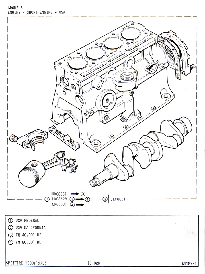 1976 Mg Midget Electrical Diagram