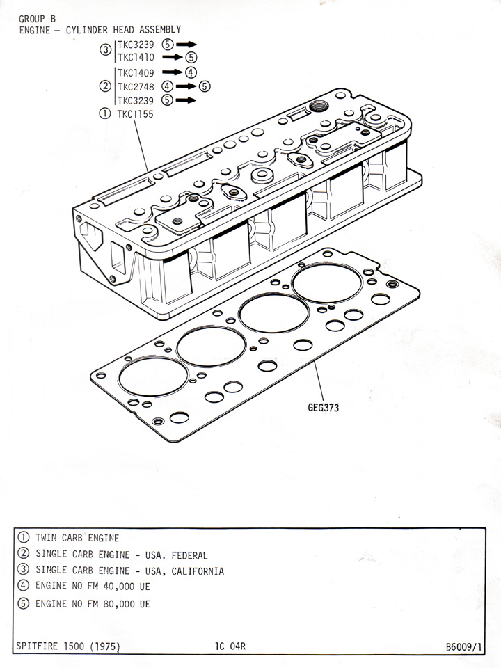 Cylinder Head Assembly   Canley Classics