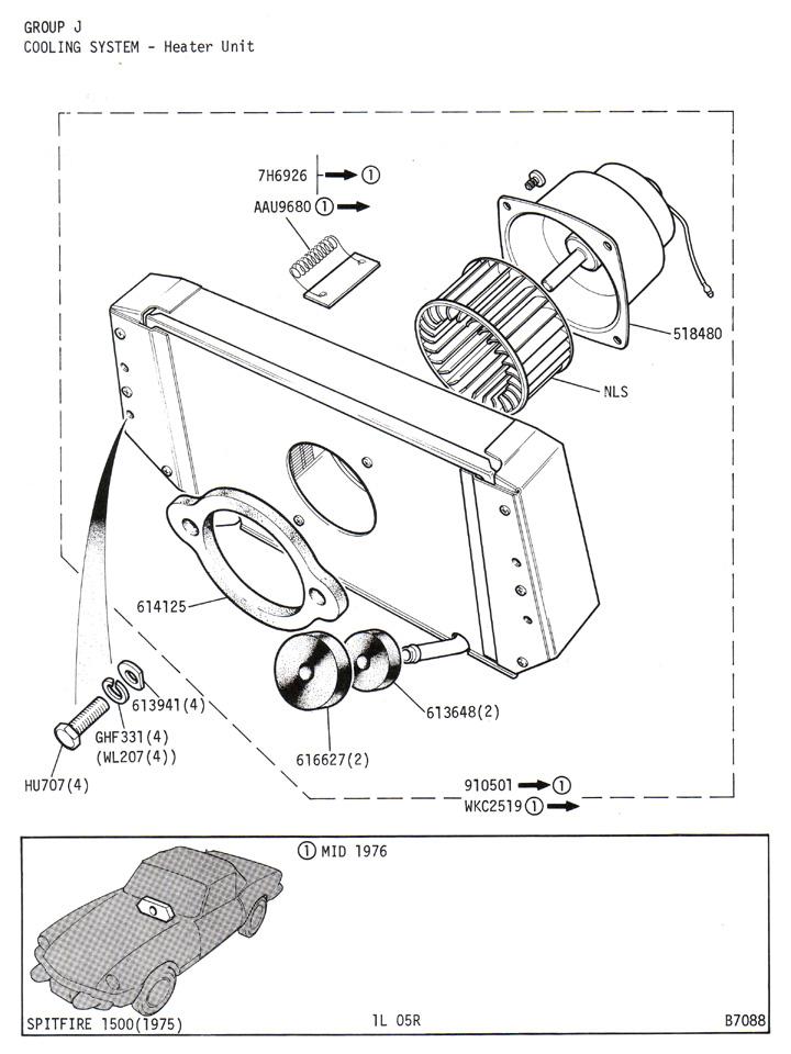 heater unit   canley classics
