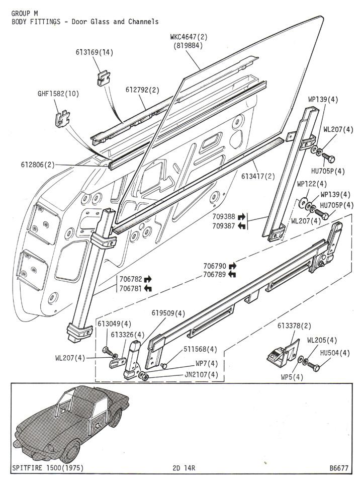 spitfire 1500 engine diagram