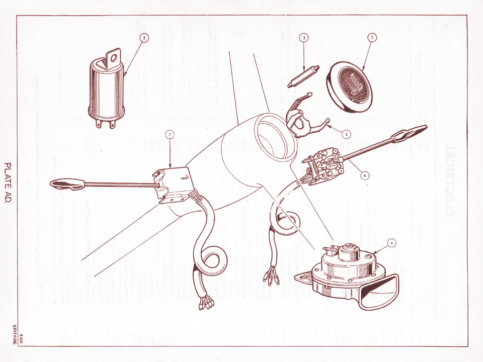 likewise Solenoid likewise Toyota Corolla Wiring Diagram besides Dodge Aspen Engine Wiring in addition Spitfire Plate Ad. on 1973 triumph spitfire wiring diagram