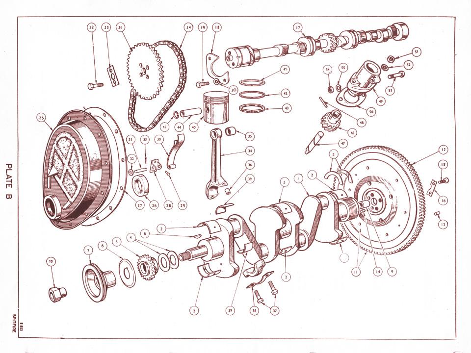 Crankshaft And Camshaft   Canley Classics