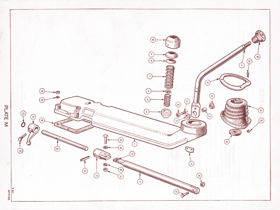 Gear Shift Mechanism @ Canley Classics