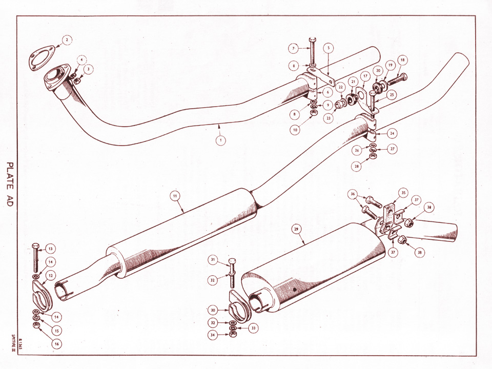Exhaust System Canley Classics