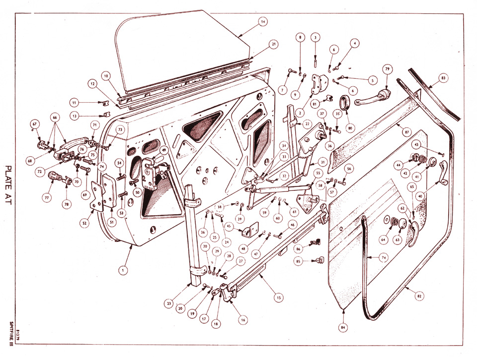 Spitfire Plate M R additionally V Ignition System Malibu Wiring Diagram Chevrolet further E He Si in addition Dsc B moreover Spitfire Plate F R. on triumph spitfire wiring diagram