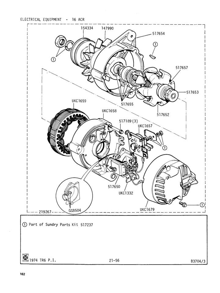 Alternator 16 Acr Canley Classics