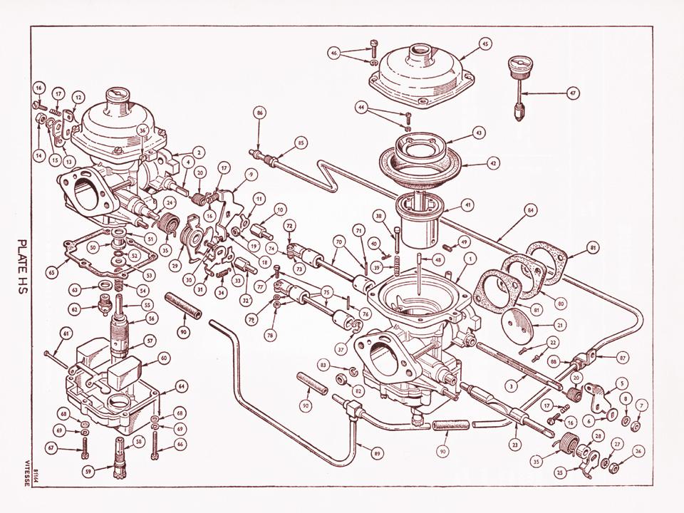 1600 Stromberg Carburettors   Canley Classics