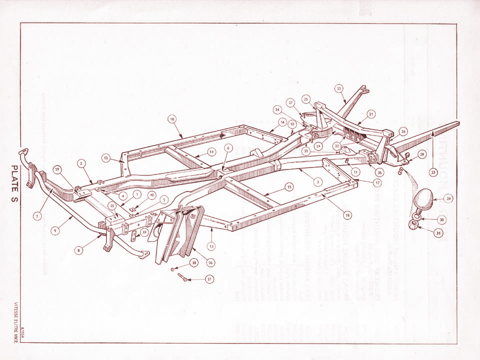 Spitfireiii html category gearbox xsl diagram additionally Triumph Herald 1200 Heater Details additionally Triumph 2Dvitesse 2Dmkii 2Dchassis moreover Technical information as well Herald1360. on triumph toledo wiring diagram