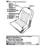 Seat Assembly (Without Head Restraint)