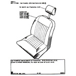 Seat Assembly (With Head Restraint)