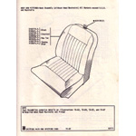 Seat Assembly (Without Head Restraint) - Spitfire MkIV