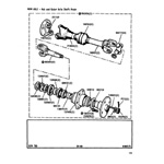 Hub and Outer Axle Shaft Assemblies