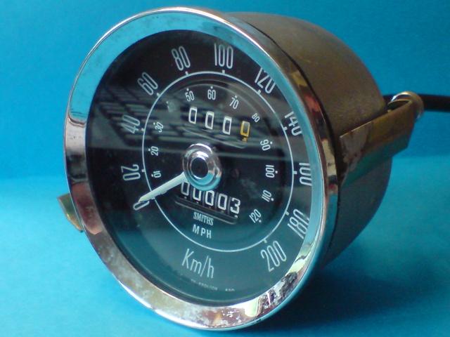 2000 MKII Speedometer (KPH) @ Canley Classics