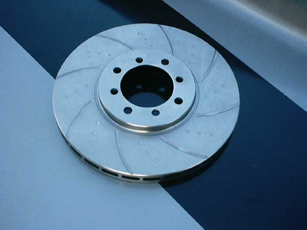 Grooved and Drilled Discs